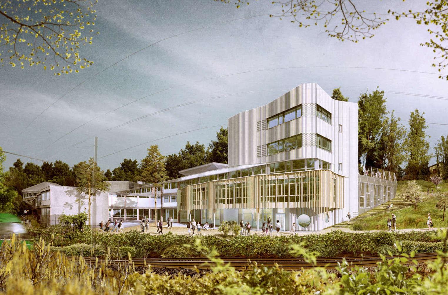 Bauvorhaben Rudolf Steiner Schule Basel
